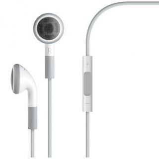 Newly listed White Headset Earphone w/ Mic for iPhone 4 3GS iPod Touch