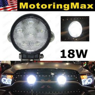 One) 18W 1500 lum High Power LED Work Light Lamp For SUV 4x4 Truck