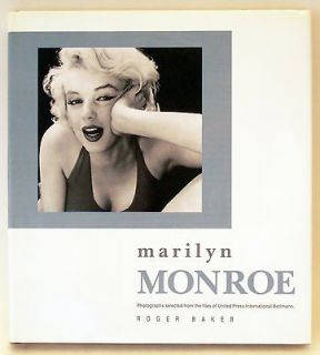 MARILYN MONROE   United Press International Photos, by Roger Baker