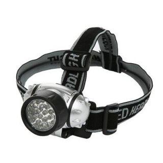 DesignersEdge Battery Operated 21 LED Lycra Headband Light L1240