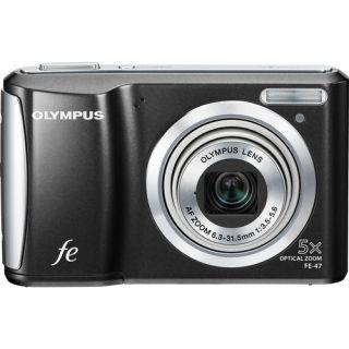 Olympus FE 47   14 Megapixels, 5x Optical Zoom Digital Camera, B