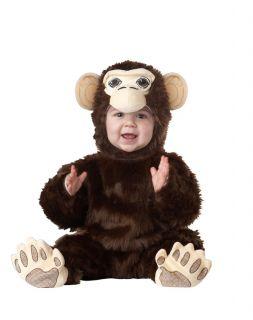 Plush Furry Chimpanzee Monkey Costume Infant 12 18 18 24 Months