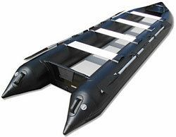 16FT SATURN INFLATABLE KAYAK BOAT KaBoat SK487XL BLACK SPECIAL OPS