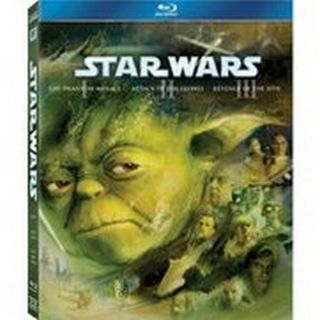 20th Century Fox FOXBR2274209 Star Wars Episodes 1 3 Blu Ray DVD NA