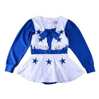 Dallas Cowboys Infant Blue Dallas Cheerleader Uniform