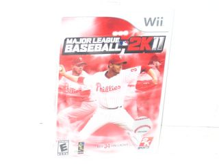 New 2K Games Major League Baseball 2K11 Sony PS3 Game