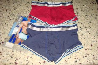 Pack 2xist Evolve Men Small Boxer Brief Underwear Low No Show Trunk