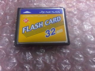 Compact Flash Photo Camera Card CF 32 MB Made in Japan