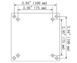 Tilt Wall Mount Bracket For 32 37 40 42 46 47 48 50 LCD LED Plasma TV