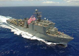 USS Rushmore LSD 47 Westpac Deployment Cruise Book Year Log 1994