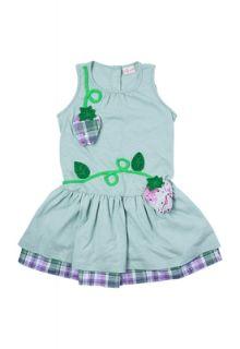 Vestido Precoce Frutas Verde   Compre Agora  Dafiti
