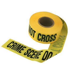 10 Crime Scene do not Cross 50 Foot Long Prop Tape