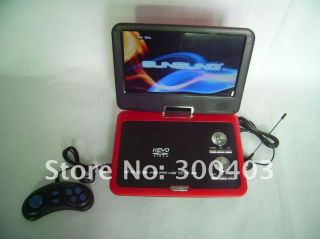 inch Portable DVD Player with TV Games MP4 FM,Hot Best kids gift