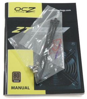 OCZ ZT Series 550W Fully Modular 80Plus Bronze High Performance Power