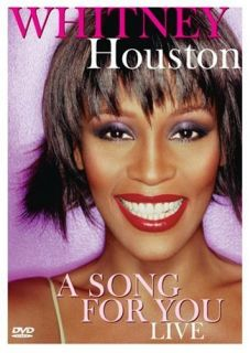 Whitney Houston A Song for You Live DVD 2007 Concert BRAND NEW FACTORY
