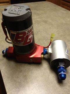 Barry Grant 280 Fuel Pump and Filter