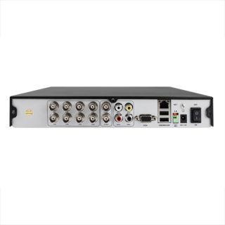 CH CCTV Security DVR 4 Outdoor IR Camera System White Cameras 500GB