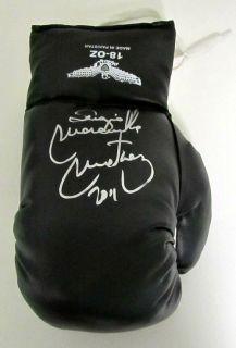 Sergio Gabriel Martinez Autographed Black Boxing Glove SI