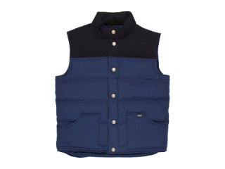 Lacoste Kids Boys Lightly Padded Color Block Vest (Little Kids/Big