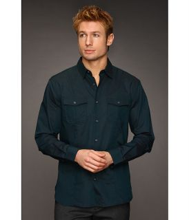 John Varvatos Point Collar 2 Pocket Shirt