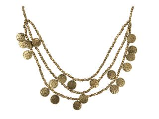 lucky brand totem collar beaded disc necklace $ 42 00