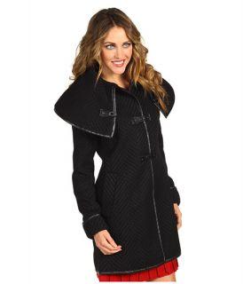 Ivanka Trump Toggle Textured Wool Coat    BOTH