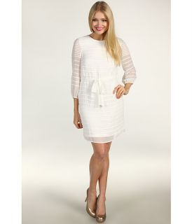 Calvin Klein Textured Stripe Chiffon Dress $89.99 $128.00 Rated 4
