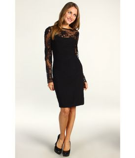 ABS Allen Schwartz Lace Sleeve Knit Dress $132.99 $220.00 SALE