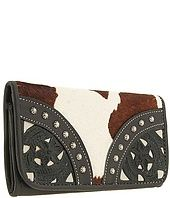 American West Prarie Rose Coll. Wallet $89.00 American West Prarie