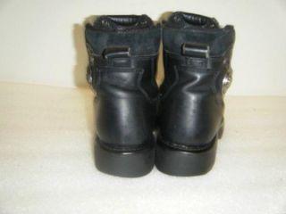 Mens Harley Davidson Motorcycle Boots Sz 8 5 10371