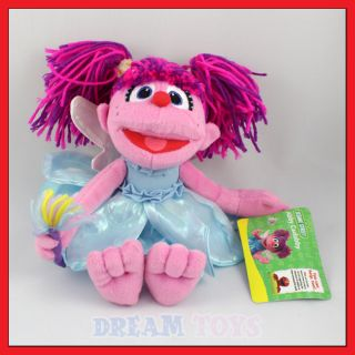 10 Sesame Street Puppet Abby Cadabby Plush Doll Figure
