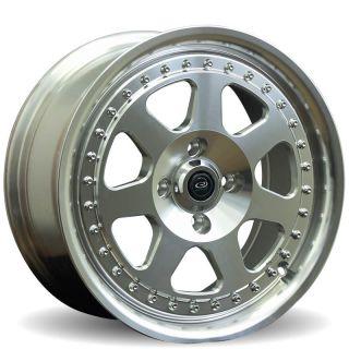 Rota J Mag 15x7 4x100 ET40 67 1 AB Polish Rims Wheels