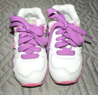 New Balance Abby Cadabby 574 Size 5 Toddler Girls Pink Tennis Shoes