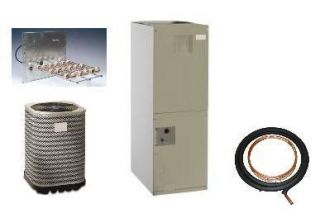 Ton R 410A Central AC Package Air Handler 10KW Heat Kit Coils