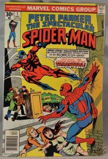 Peter Parker The Spectacular Spider Man Comic Book 1 Spiderman