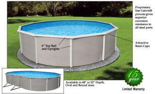 15 x 30 oval above ground swimming pool liner 48 deep