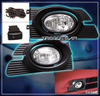 01 02 Honda Accord Sedan 4DR JDM Bumper Driving Clear Fog Lights Lamp