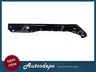 FORD SUPER DUTY F250 F350 FRONT BUMPER CHR LO VALANCE BRACKET PLATE 8P