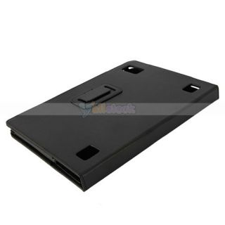 Leather Case Cover for Acer Iconia Tab A500 A501 Touch Tablet Black