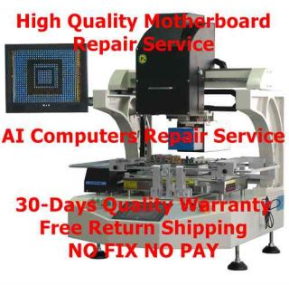Acer Aspire Laptop Motherboard Repair 7540 7540g 7741 7741G 7741Z