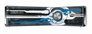 NEW~LIMITED EDITION HALO 4~CLEAR CONSOLE ONLY~XBOX 360 S SLIM