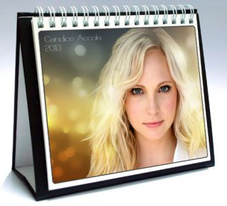 Candice Accola 2013 Desktop Holiday Calendar Vampire Diaries Caroline