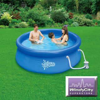 30 Quick Set Above Ground Swimming Pool Easy w Filter Pump