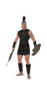 Adult Medium Achilles Warrior New Fancy Dress Costume Roman Troy Male