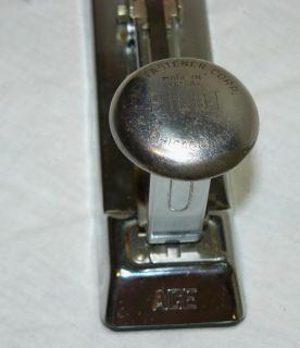 Vintage Industrial Ace Pilot 402 Stapler Mid Century Art Deco Desk