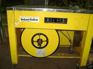 Acme Interlake Strapper Strapping Machine Model NS 3