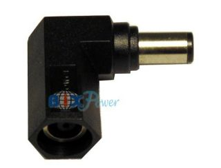 Right Angle Connector Converter for Dell HP Laptop Power Adapter LC90B