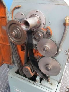 ACRA TURN 17 x 55 GEARED HEAD GAP BED ENGINE LATHE   #LS430   NICELY