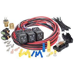 Performance Products 30116 Dual Activation Dual Electric Fan Relay Kit