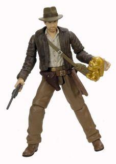 Indiana Jones 3 3/4 action figure Indiana Jones with golden idol, as